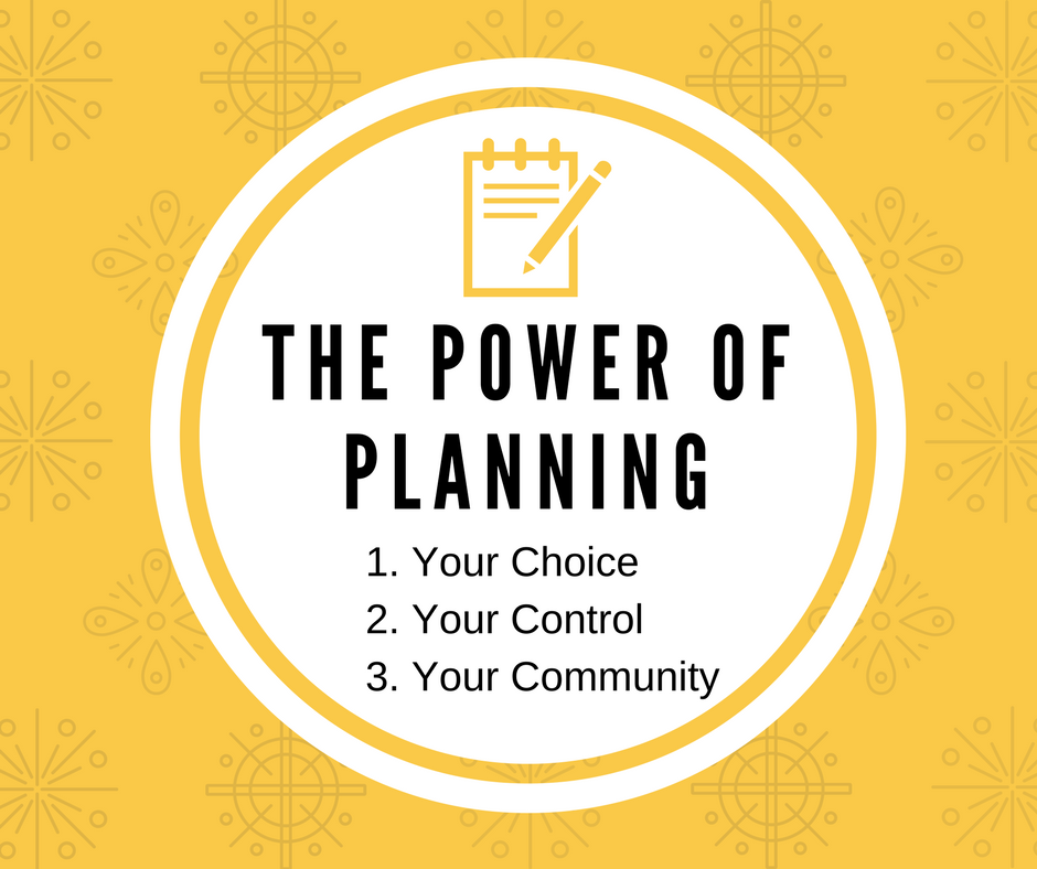 The Power of Planning Logo
